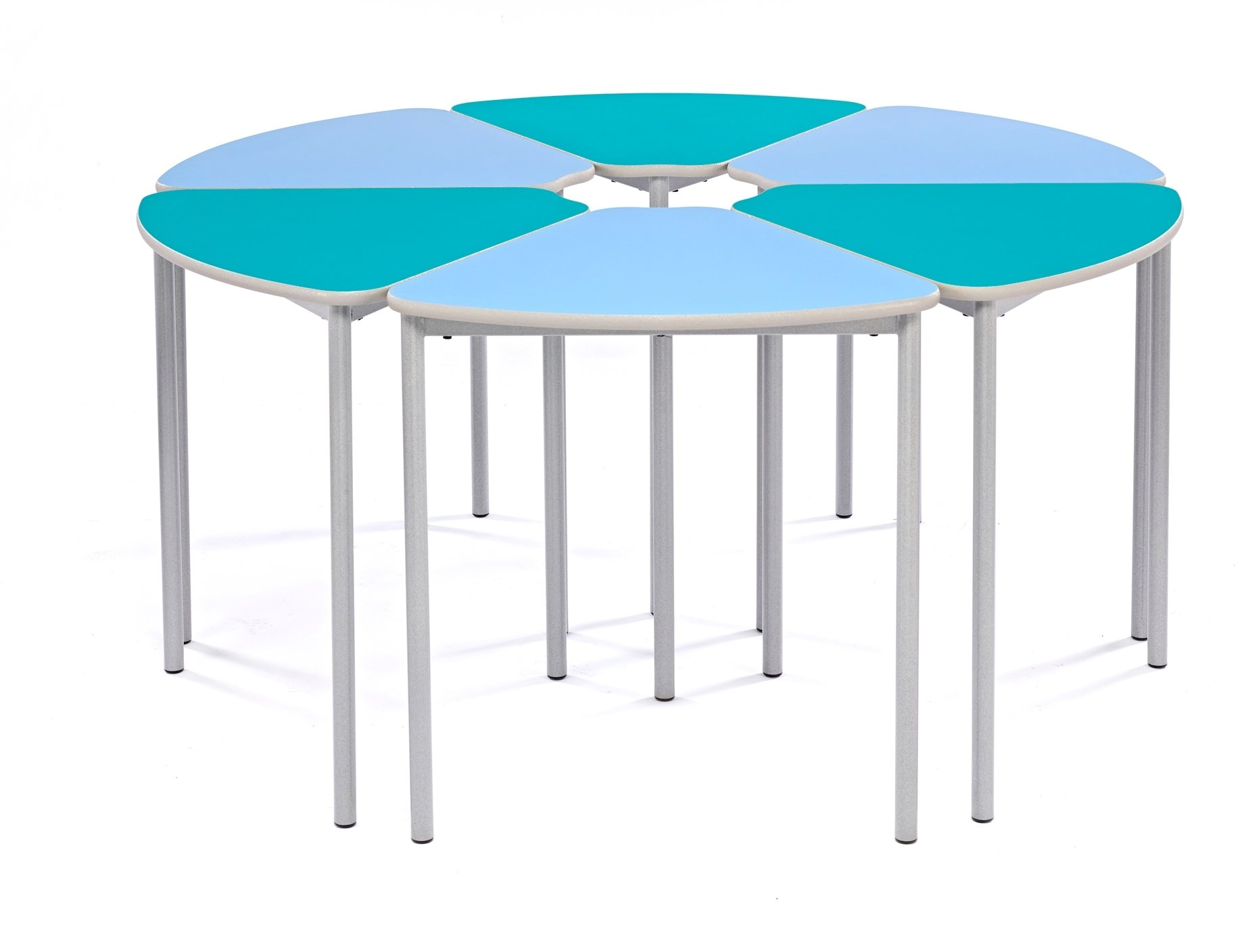 Modular Classroom Tables ~ Metalliform segga school classroom table with castor