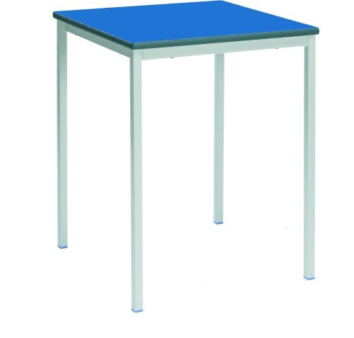 Metalliform School Square Table - 600mm x 600mm PU