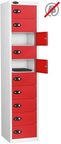 Probe LapBox 10 Compartment Locker - 1780 x 380 x 460mm
