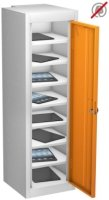 Probe TabBox Single Door 8 Compartment Locker - 1000 x 305 x 305mm