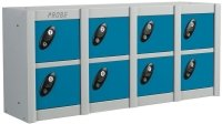 Probe MiniBox 8 Multi Door Stackable Lockers - 415 x 900 x 230mm
