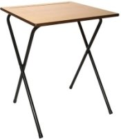 Titan 40 Economy Wooden Exam Desk & Trolley Bundle