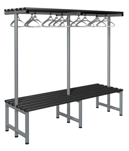 Probe Cloakroom Double Sided Overhead Hanging Bench 2000 x 720 x 475mm