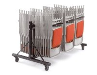 Principal 2700 Folding Chair and 1 Low 3 Row Trolley Package