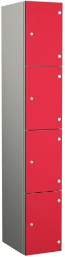Probe Zenbox Four Compartment Locker - 1800 x 400 x 450mm