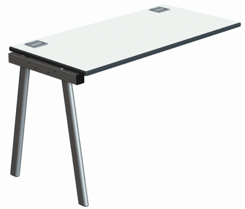 Metalliform Inspire Single Add-On Bench Pack - 1800mm x 600mm
