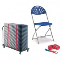 Principal 2000 Folding Chair and Trolley Package