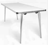 Gopak Contour 25 Plus Folding Table W915 x D610mm