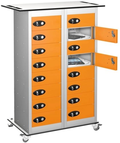 Probe TabBox 16 Compartment Trolley With USB - 1050 x 800 x 370mm