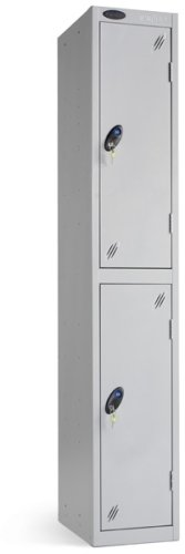 Probe Two Door Single Nest Steel Locker - 1780 x 305 x 460mm