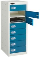 Probe Low Eight Door Single Steel Locker - 1000 x 380 x 460mm