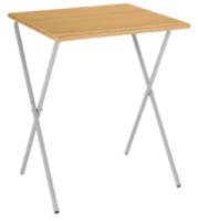 Metalliform Four Legged Folding Exam Table