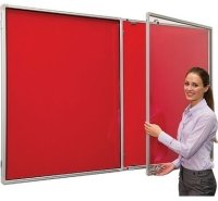 Spaceright Flameshield Tamperproof Fire Retardant Noticeboards 900 x 600mm