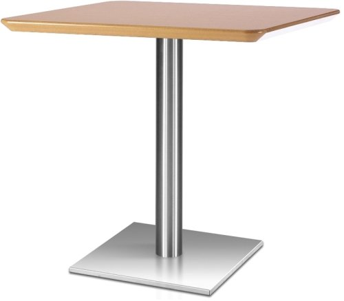 Frövi Flat Square Dining Table With MFC Finish - 600mm