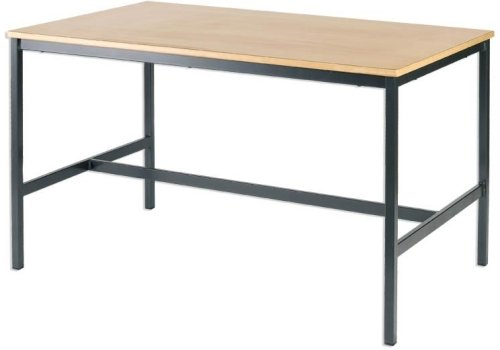 Metalliform Fully Welded Rectangular Craft Table 1500 x 750mm MDF