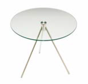 Elite - Glass Circular Coffee Table