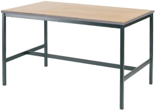 Metalliform Fully Welded Rectangular Craft Table 1500 x 750mm PU