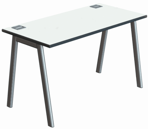 Metalliform Inspire Single Bench Desk - 1200mm x 600mm