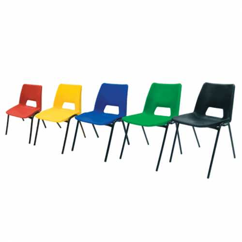 Gopak AC Junior Poly Stacking Chair - Seat Height 380mm