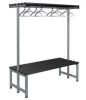 Probe Cloakroom Double Sided Overhead Hanging Bench 1500 x 720 x 475mm