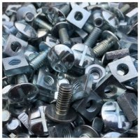 Probe Locker Nuts and Bolts (Pack of 100)