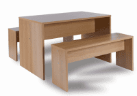Monarch Small Dining Table Set