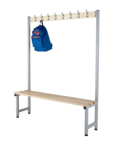 Probe Budget Cloakroom Single Sided Hook Bench 1500 x 350mm