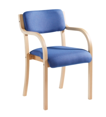 Dams Prague Confence Chair with Arms