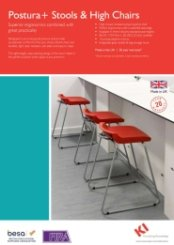 Postura+ Stools & High Chairs Data Sheet