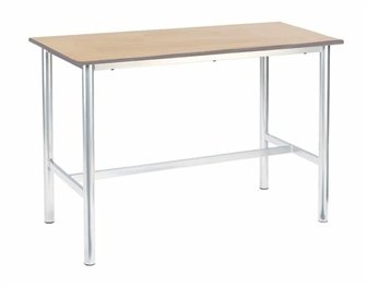 Metalliform Premium Frame Rectangular Craft Table 1200 x 600mm PU