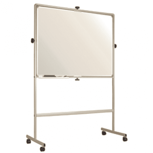 Gopak Revolving Magnetic White Board - W1500 x H1200mm