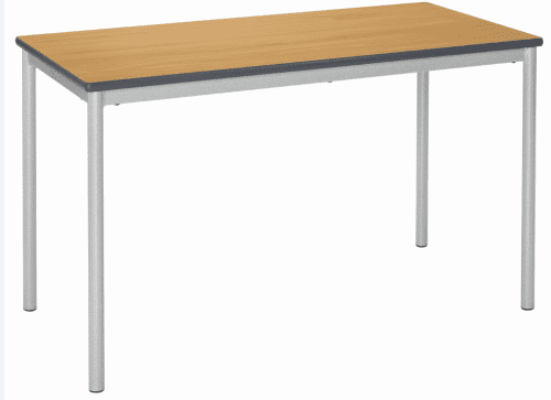 Metalliform Fully Welded Spiral Stacking Rectangular Table - 1500 x 750mm
