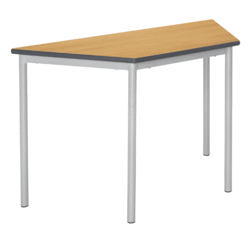 Metalliform Fully Welded Spiral Stacking Trapezoidal Table - 1100 x 550mm