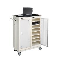 Probe LapBox 16 Compartment Storage Locker with Trolley