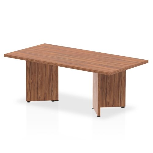 Gentoo Coffee Table with Wooden Panel Legs 1200 x 600mm