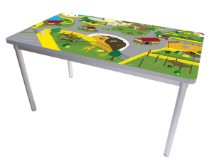 Gopak Enviro Fixed Leg Activity Table
